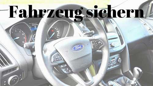 Thumbnail Fahrzeug sichern Ford