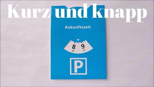 Thumbnail Parkscheibe